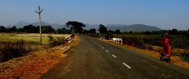 State highway towards Kapilash
