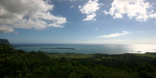 Chamarel view point